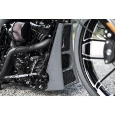 """AGGRESSOR"" Touring Radiator Cover"