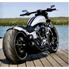 """New! M8 Softail """"Stretched"""" Tank & Fender"""