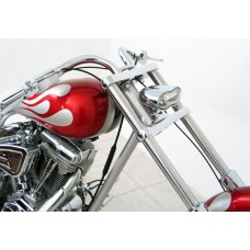 Chrome Wave Headlight