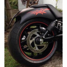 """Aggressor"" Rear Fender"