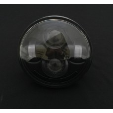 "5 3/4"" LED Black Face Headlight"