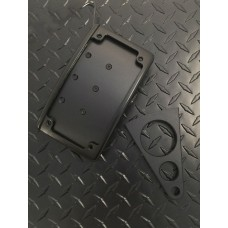 "GR ""Curved"" Side Mount Plate w/Leds"
